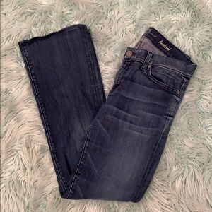 Seven for all mankind boot cut rhinestone jeans